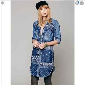 Free People | Westward Bandana Print Dress